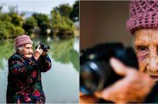 Sudah berusia 105 tahun, nenek ini masih aktif jadi fotografer