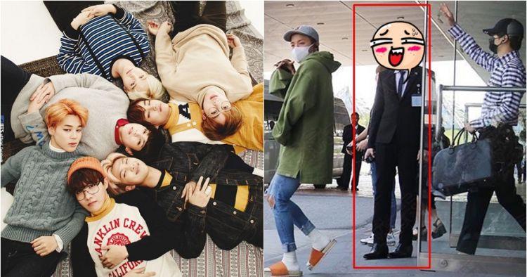 Pramugara ganteng ini jadi viral setelah terlihat kawal boyband 'BTS'