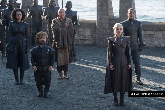 Begini beda penampilan 15 artis Game of Thrones di film & dunia nyata