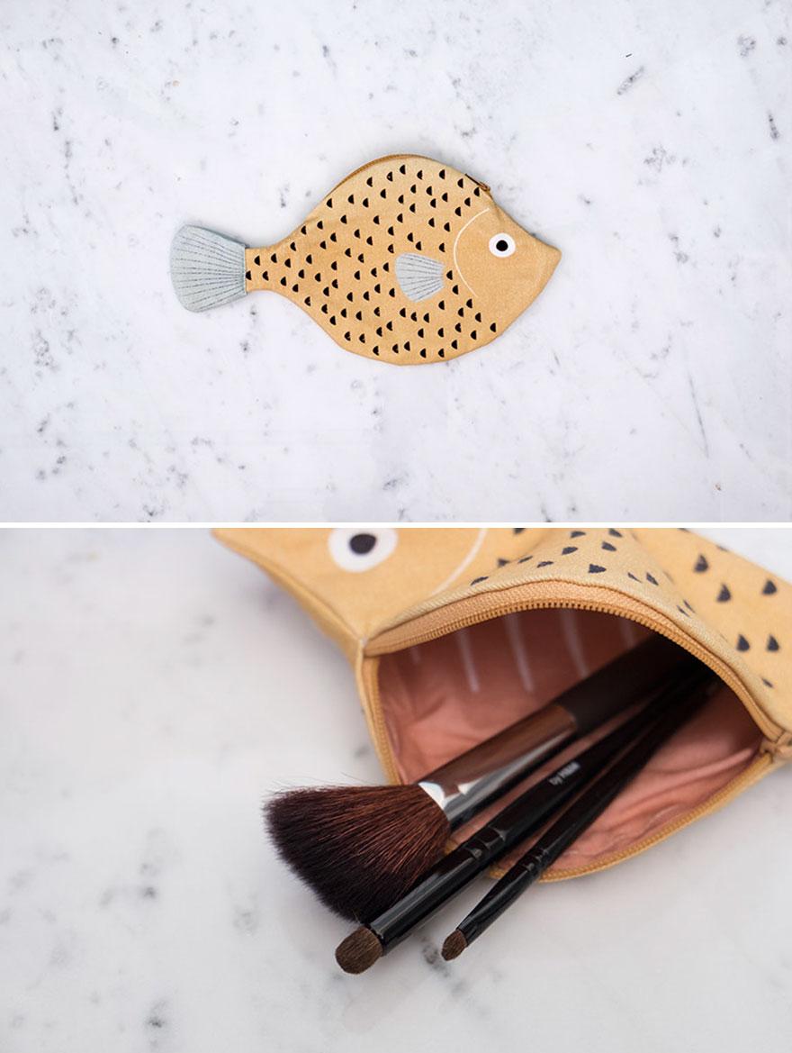 tas unik bentuk ikan © 2017 Boredpanda