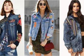 Yuk bikin jaket denimmu biar lebih chic & keren dengan 10 ide ini