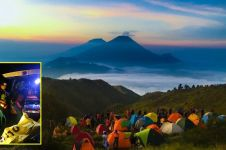11 Pendaki Gunung Prau tersambar petir saat berteduh sambil main HP