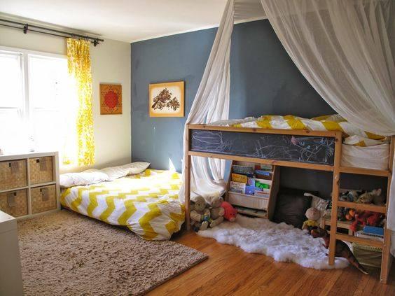 Tempat Tidur Lesehan Sederhana  10 desain kamar tidur dengan kasur di lantai ini bisa jadi