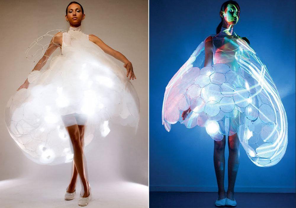 gaun unik berubah-ubah © 2017 brilio.net