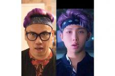 6 Foto ini bukti Uya Kuya mirip sama Rap Monster BTS, kamu setuju?