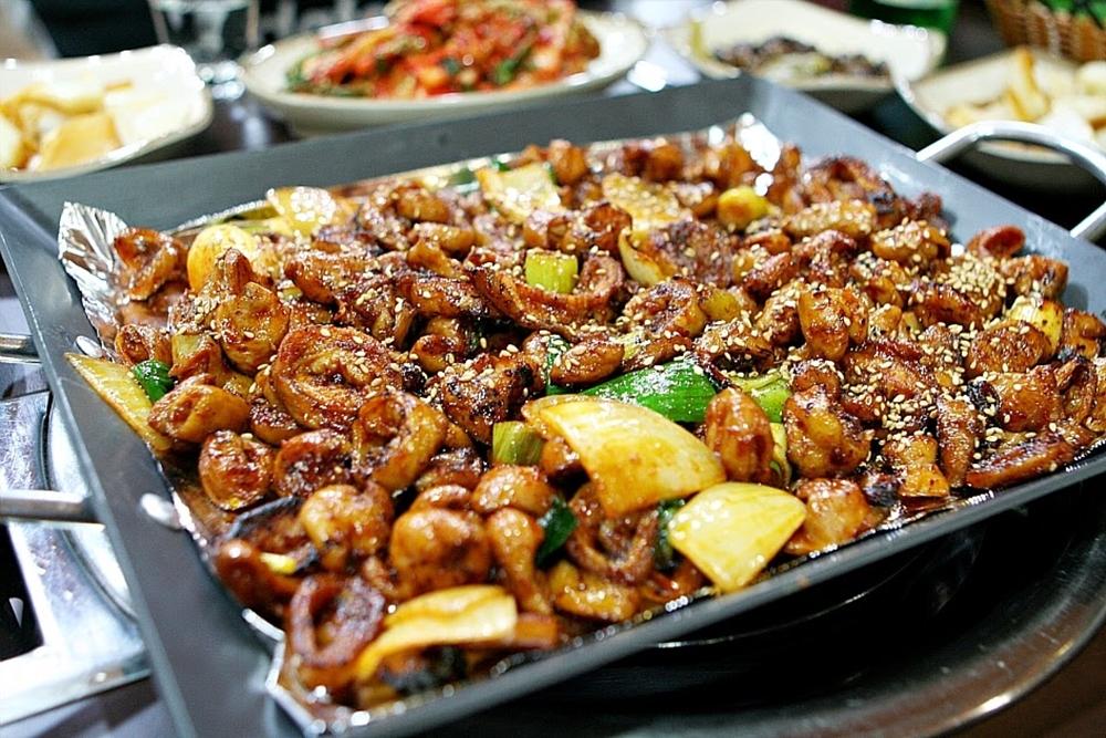 makanan Korea nggak sehat © 2017 brilio.net