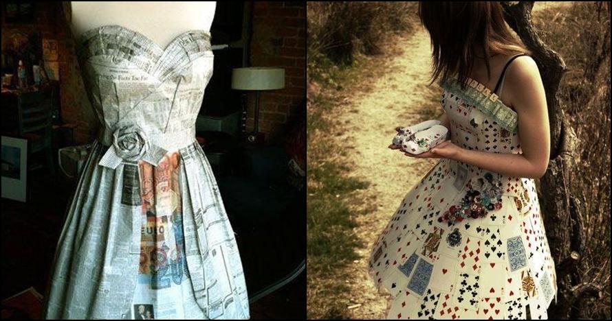 13 Gaun pesta yang dibuat sendiri dengan bahan yang sederhana