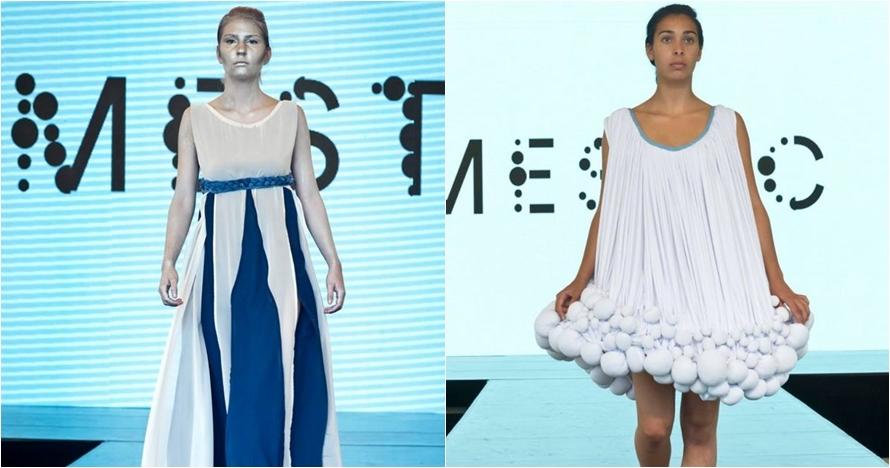 Unik, desainer Belanda ini ubah kotoran sapi jadi pakaian fashionable