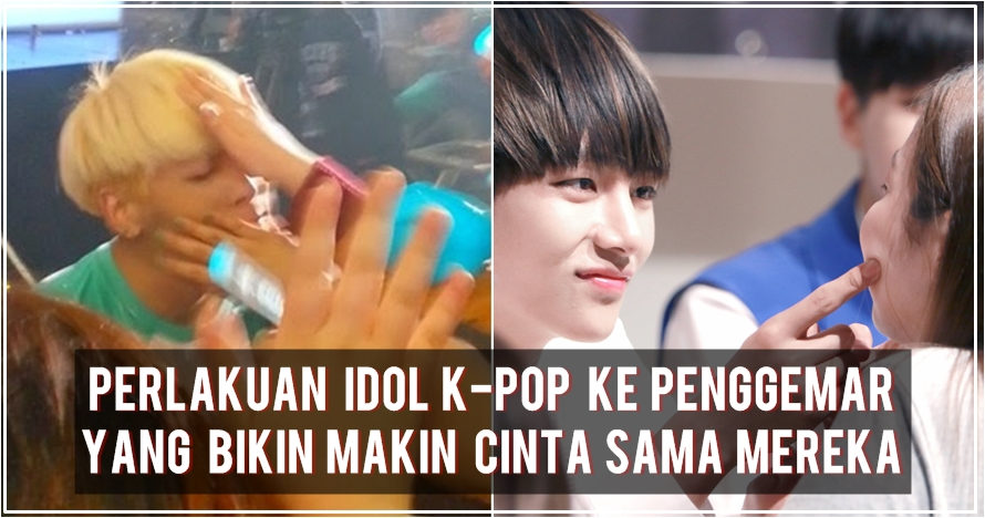 7 Perlakuan idol K-Pop ke penggemar ini bikin fans makin cinta deh