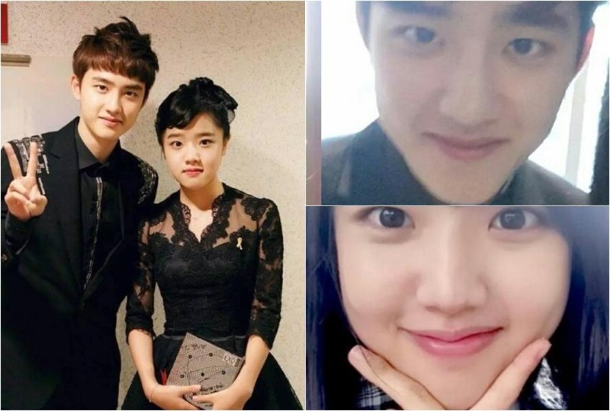 8 Foto ini bukti D.O. 'EXO' cocok jadi abangnya aktris Kim Hyang-gi