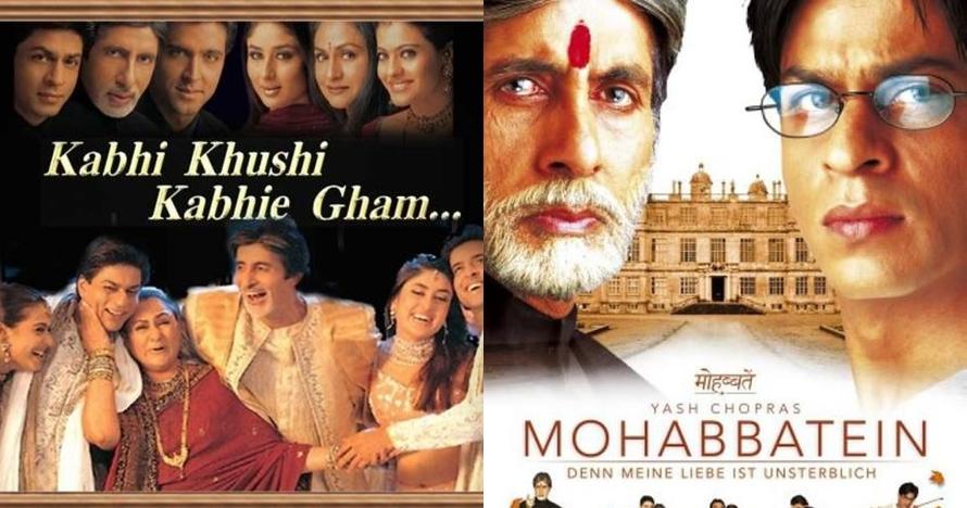 9 Film ini dibintangi duet King Bollywood Amitabh Bachchan & SRK