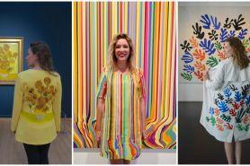 15 Desain baju ini tiru benda sekitar, bukti ide bisa dari mana aja