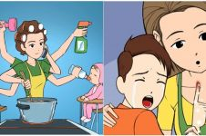 9 Komik buktikan kehebatan ibu yang serba bisa, bikin kangen bunda deh