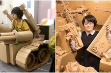 18 Mainan ini ternyata cuma dibuat dari kardus bekas, kreatif banget!