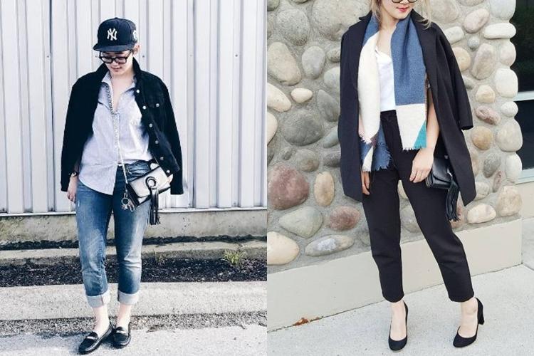 Tinggal di Kanada, gaya fashion Gisela Cindy makin stylish