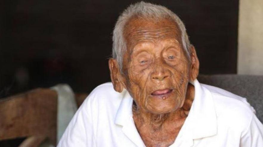 Mbah Gotho manusia tertua tutup usia, ini rahasianya panjang umur