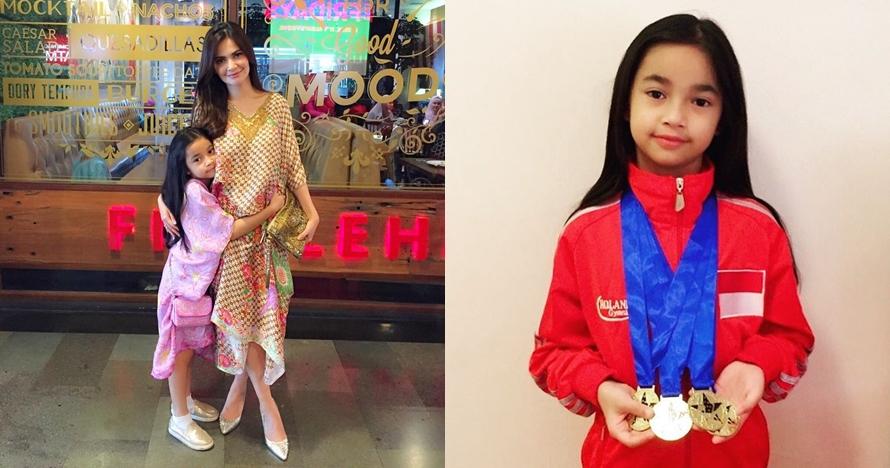 Sidney Azkassyah Yusuf, putri Cut Tari yang jadi atlet senam