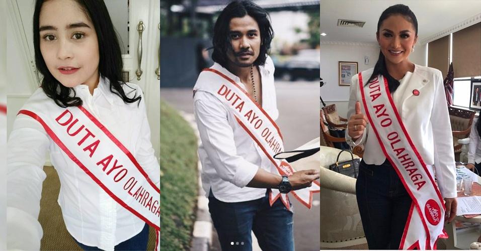 7 Artis ini dilantik jadi Duta Ayo Olahraga, membanggakan banget nih!