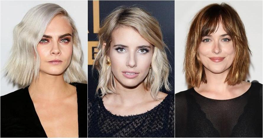 Ingin tampil chic dan menawan? Yuk tiru model rambut lob 10 artis ini