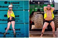 10 Foto suami berpose bak model wanita dewasa ini bikin nyengir geli
