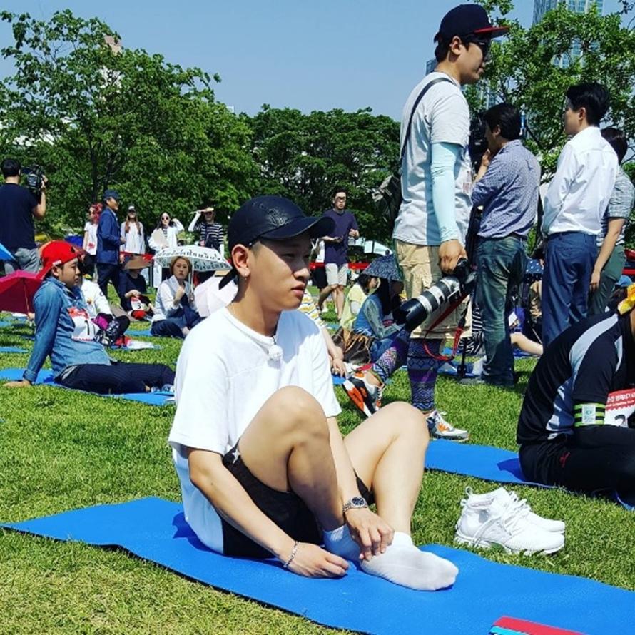 kontes melamun Korea © 2017 brilio.net