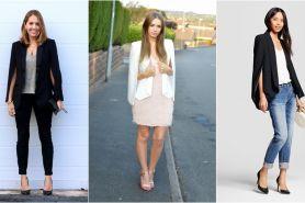 Tampilan makin kece dengan 10 gaya cape blazer ala fashionista
