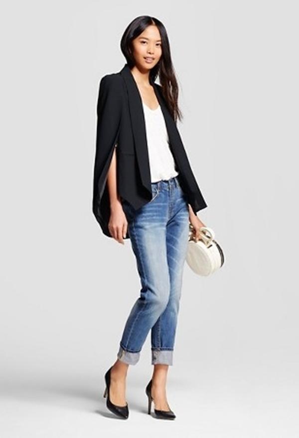 cape blazer ala fashionista  © 2017 berbagai sumber