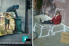 11 Poster kreatif kampanye donasi bagi gelandangan, pesannya ngena