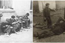 15 Foto lawas ini ungkap keseharian korban Holocaust di pengasingan