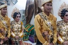 Terpaut 31 tahun, pernikahan pasangan ini bukti cinta tak pandang usia