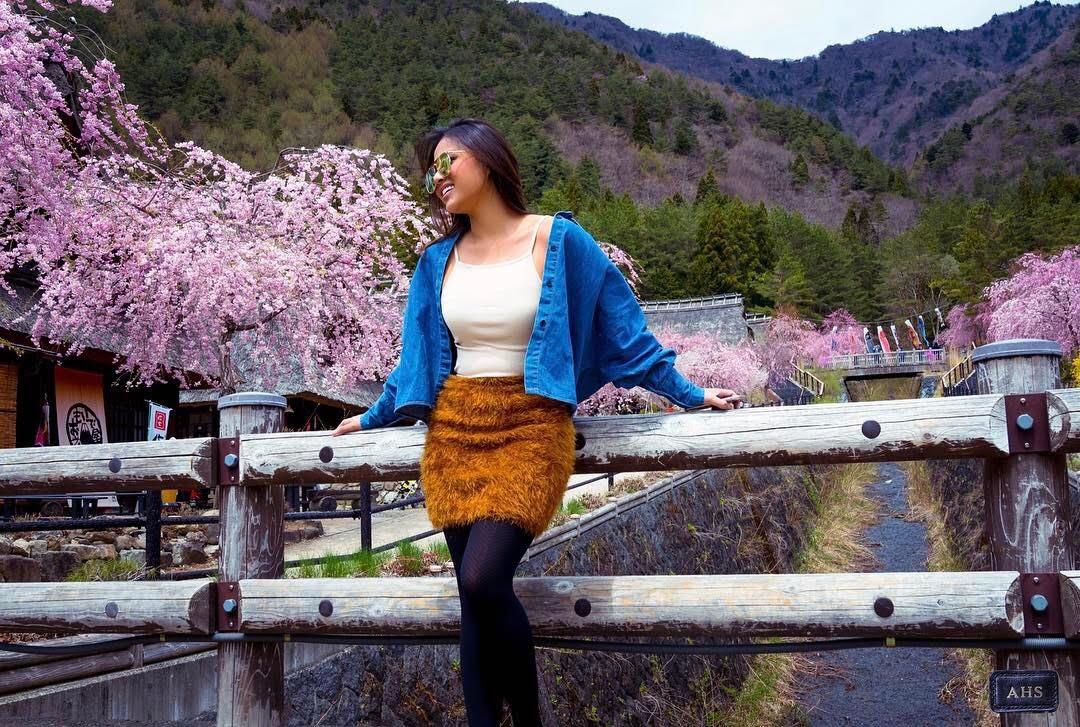 Liburan ke Jepang, ini destinasi wisata yang dikunjungi Aurel