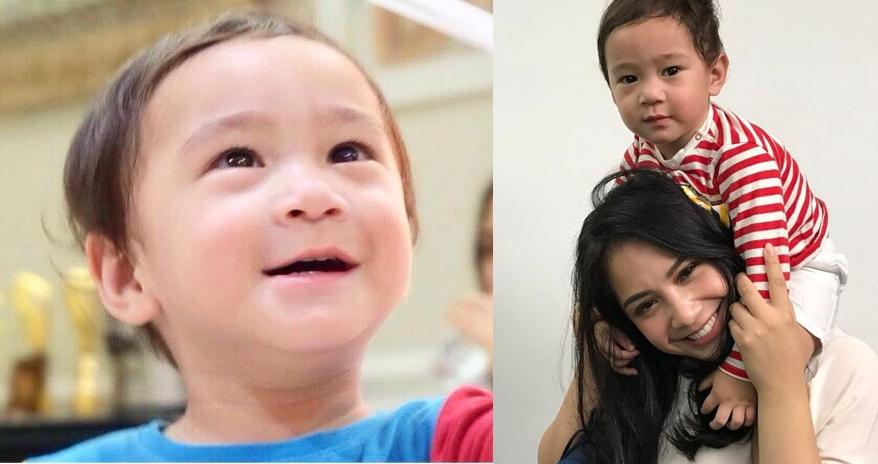 6 Foto masa kecil Nagita ini mirip Rafathar, anak mama banget