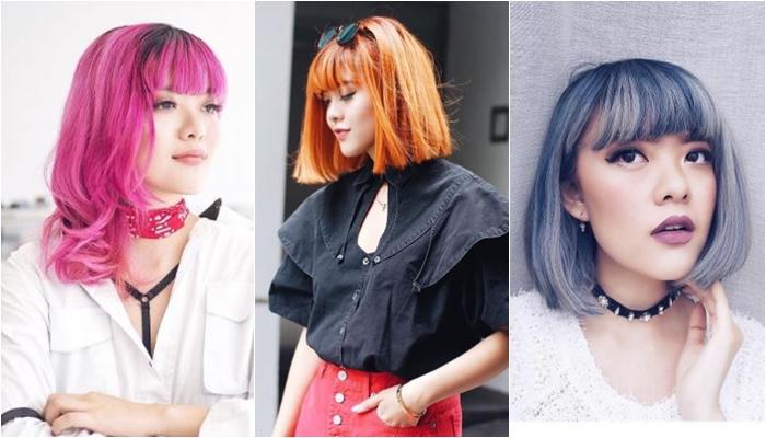 selebgram ganti warna rambut  © 2017 berbagai sumber