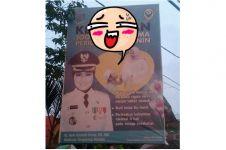 Baliho Wali Kota Tangsel ini bikin gagal paham, apa yang aneh ya?