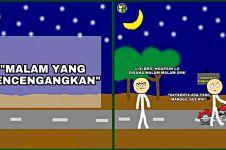 Komik 'Malam yang Mencengangkan' ini endingnya bikin terpana