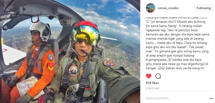 #KisahCintaClara Instagram/@romas_condor
