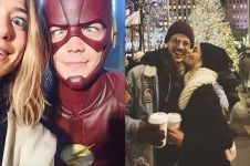 Tunangan, ini 12 potret romantis Grant Gustin 'The Flash' dan kekasih