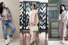 20 Gaya fashion Hanggini, dari kasual sampai vintage yang hits abis