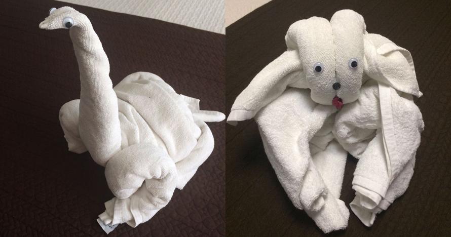 10 Kreasi handuk berbentuk hewan ini unik banget dan bikin gemes