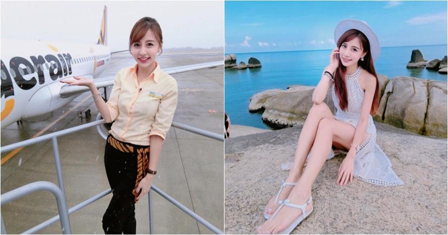 12 Potret cantiknya Rita Kao, pramugari yang dijuluki 'Barbie hidup'