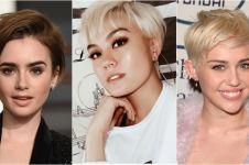 10 Inspirasi model rambut pixie ala artis top, bisa kamu tiru nih