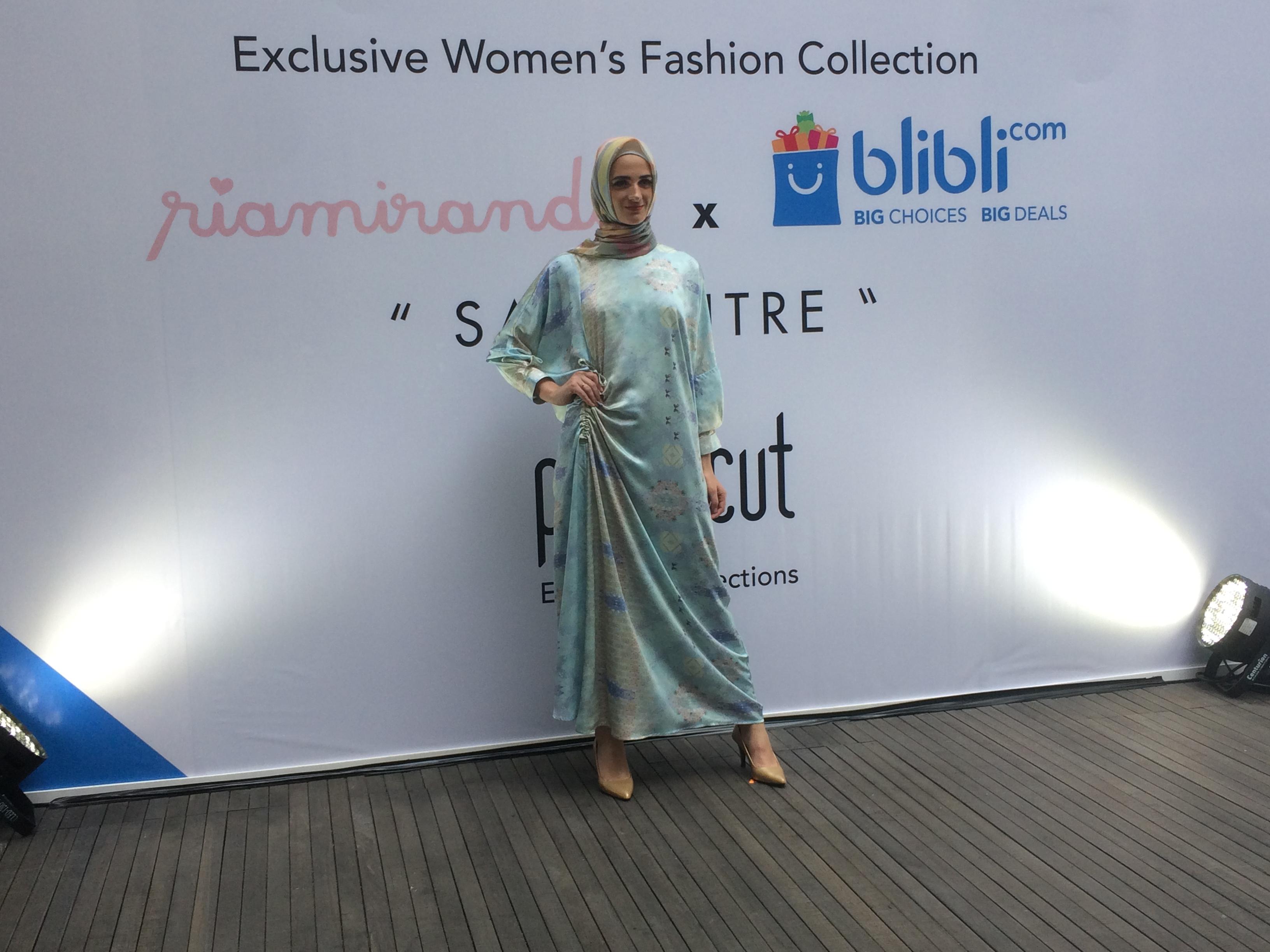 Ini koleksi fashion Ria Miranda untuk sambut Ramadan, temanya unik lho