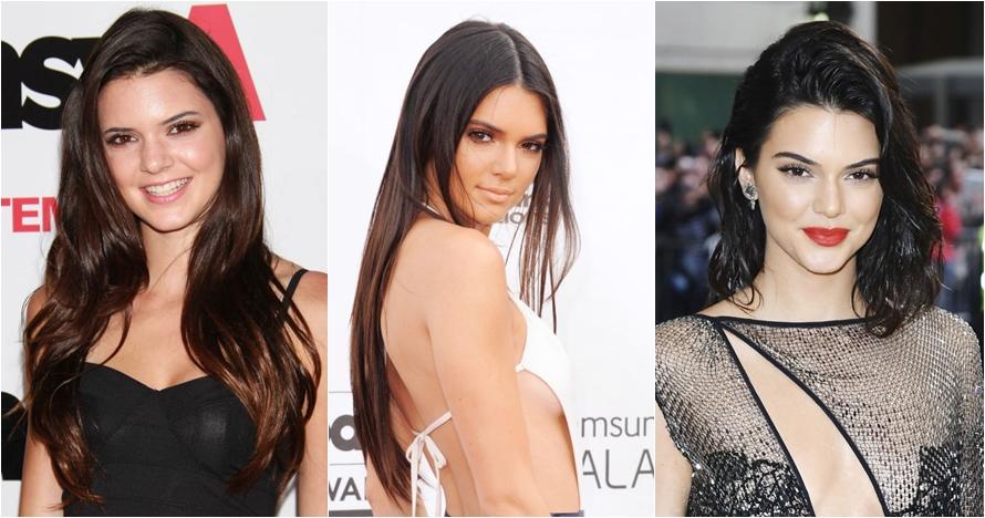12 Foto evolusi rambut Kendall Jenner, dari culun hingga hits abis