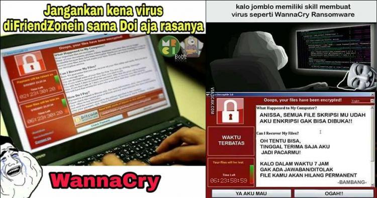 7 Meme virus ransomware ini nggak bikin cemas, ngakak iya