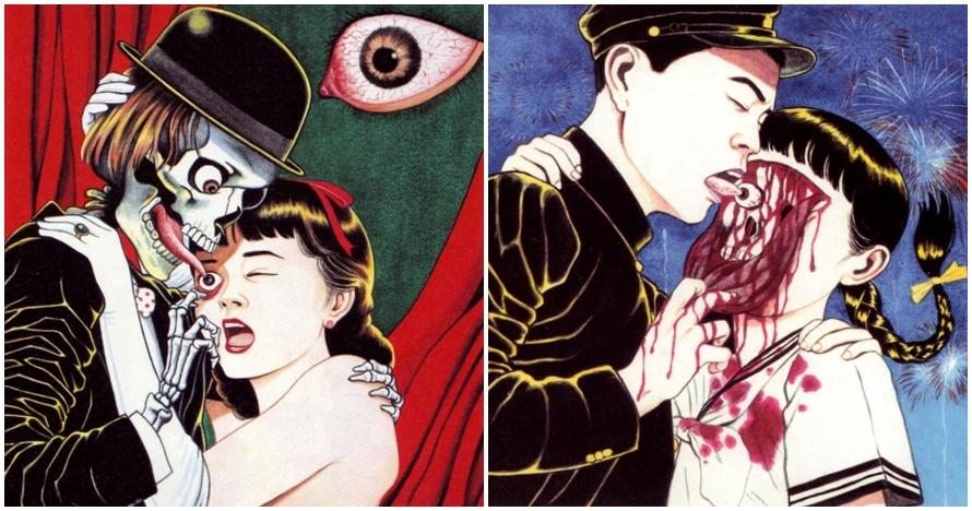 Nggak melulu kisah serem, 14 ilustrasi manga ini juga ngerinya parah