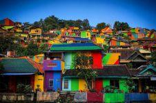 12 Potret Kampung Pelangi, desa warna-warni di Semarang yang mendunia