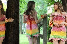 Kamu tak akan sangka bahan gaun ini sangat unik, ngumpulinnya 4 tahun