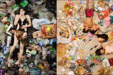 28 Foto ini ingatkan betapa banyaknya sampah yang  dibuang setiap hari