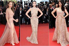 10 Gaun beige terbaik para seleb selama ajang Cannes, glamor & elegan