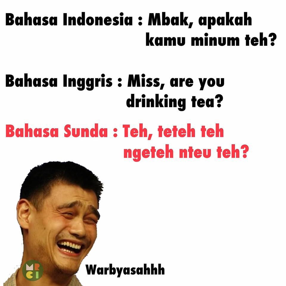 Gambar Lucu Sunda Terbaru 2019 Bikin Ngakak Grosir DP BBM Terbaru 2019